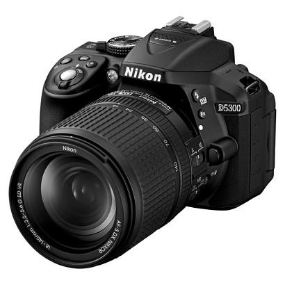 Nikon D5300 24.2MP Digital SLR Camera with 18-140mm VR Lens