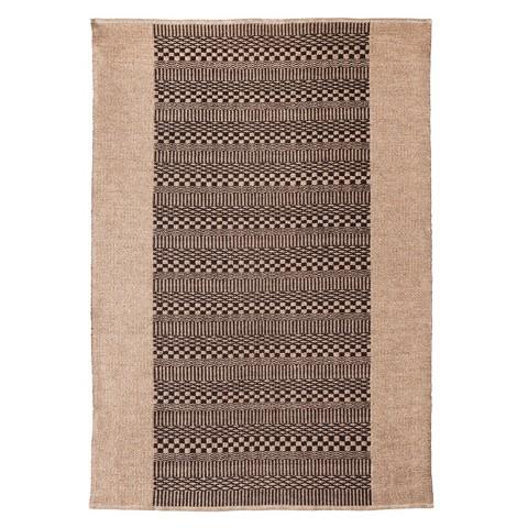 nate berkus natural area rug tan black 5 39 x7 39 product details