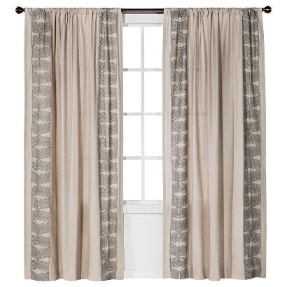 Nate Berkus™ Embroidered Curtain Panel