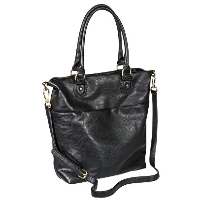 Women's Solid Tote Handbag