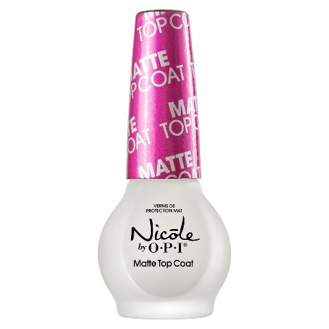 Nicole by OPI Matte Top Coat