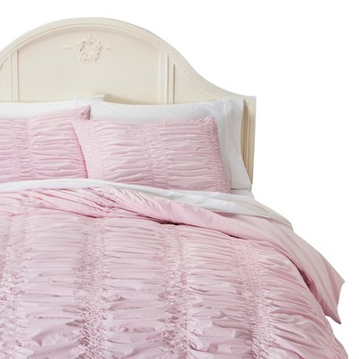 Simply Shabby Chic® Textured Duvet Cover Set - Pink (Twin)