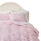 Simply Shabby Chic® Textured Duvet Cover Set - Pink