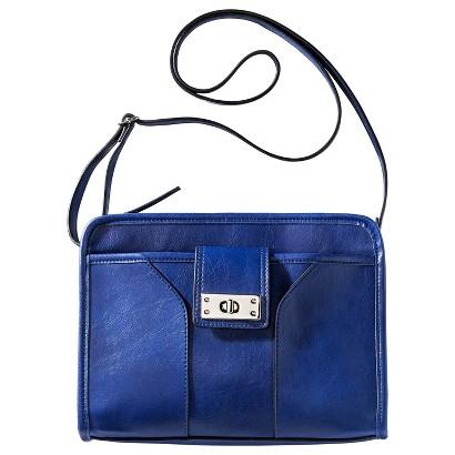 Merona® Solid Crossbody Handbag - Blue