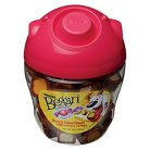 Purina Beggin' Party Poppers Bacon, Cheddar & Monterey Jack Cheese Flavors Dog Treats 10 oz. Pig Head Canister