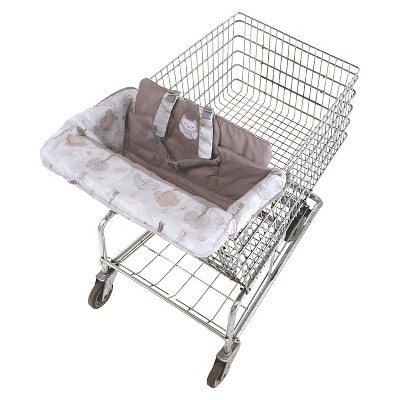 Eddie Bauer® Clean Seat High Chair and Shopping Cart Cover - Owl