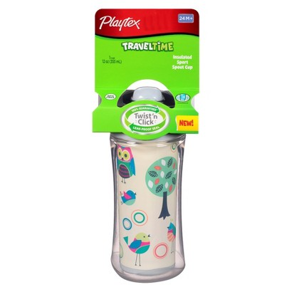 Playtex Travel Time Sport Spout 1pk Sippy Cup - Assorted Colors