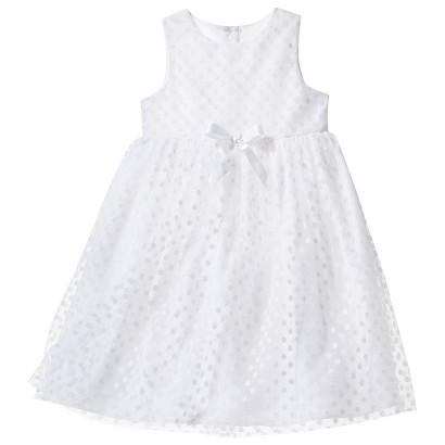 TEVOLIO™ Infant Toddler Girls' Empire Dress - White