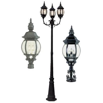 Italian Estate Exterior Lighting Collection