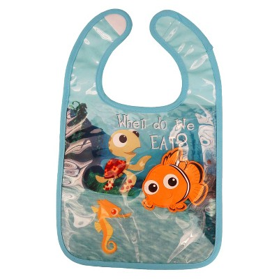 Disney Nemo Under Glass Baby Bib