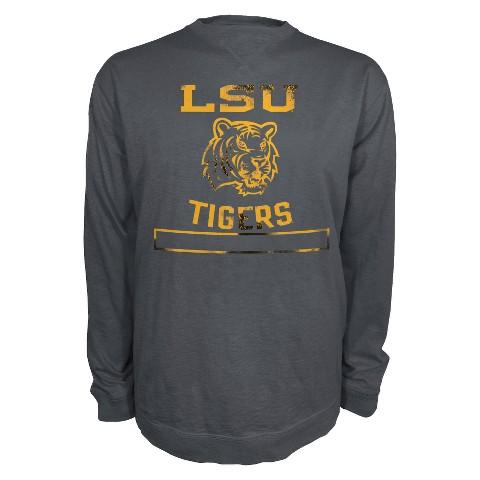 NCAA Men's LSU T-Shirt - Grey