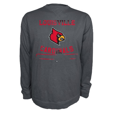 Louisville Cardinals Men's T-Shirt - Grey