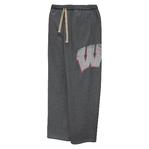 Wisconsin Badgers Men's Pants - Grey