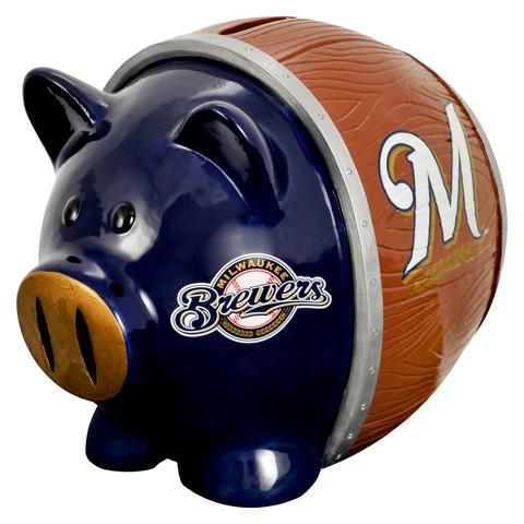 Milwaukee Brewer Coin Bank