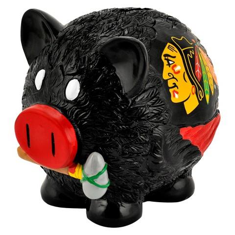 NHL Chicago Blackhawks Piggy Bank - Large