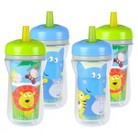 The First Years 4pk Insulated Straw Cup