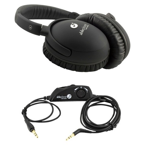 Able Planet Personal Sound Stereo Headphones - Black (PS400BIBVT)