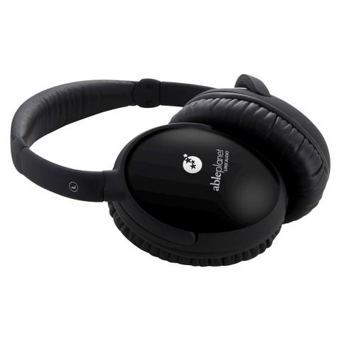 Able Planet True Fidelity Around-the-Ear Stereo Headphone - Black Rubber (PS400BG002)