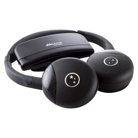 Able Planet Personal Sound Wireless Headphones - Black (IR349TM001)