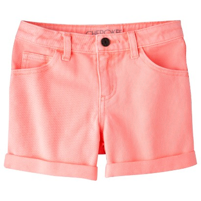 Cherokee® Girls' Rolled Hem Short