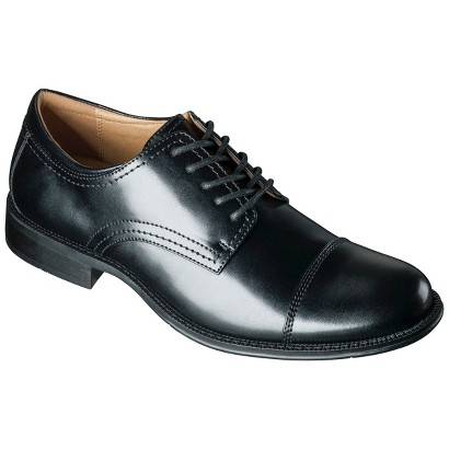 Men's Merona® Ravi Oxford Cap Toe Dress Shoes - Black