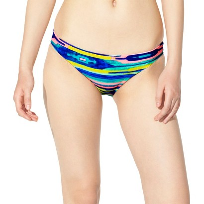 Xhilaration® Junior's Hipster Swim Bottom -Ikat Print