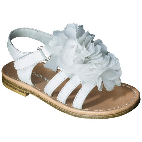 Toddler Girl's Cherokee® Joslyn Sandals - White