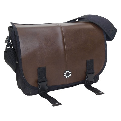 DadGear Messenger Diaper Bag - Professional Brown