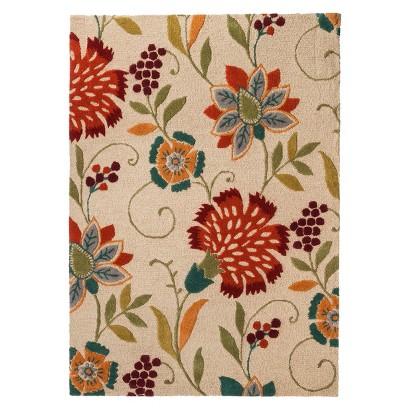 Threshold Floral Wool Area Rug - Multi (5'x7')
