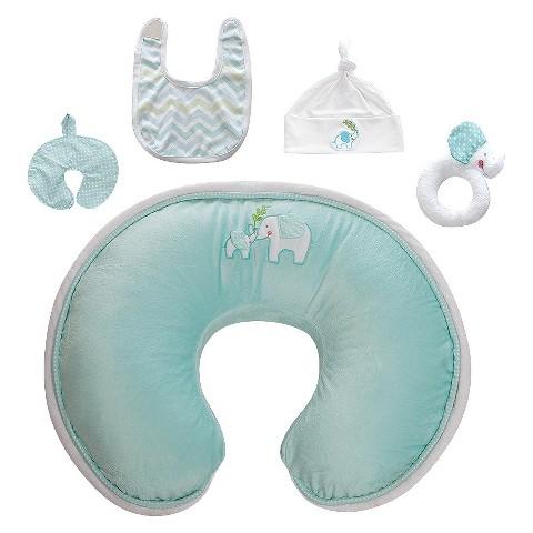 Boppy Luxe Slipcovered Nursing Pillow Gift Set