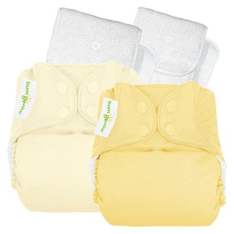 bumGenius 4.0 Snap Reusable Diaper (2 Pack) - Assorted Colors
