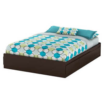 South Shore Fusion 2-Drawer Queen Platform Bed