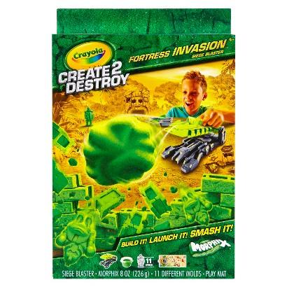 Crayola Create 2 Destroy - Fortress Invasion - Siege Blaster