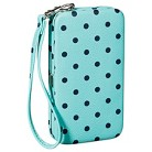 Merona® Polka Dot Cell Phone Case Wallet with Removable Wristlet Strap - Mint