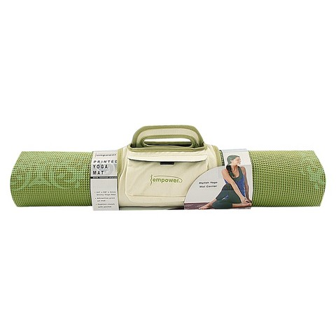 Empower Yoga Pilates Mat with Clutch