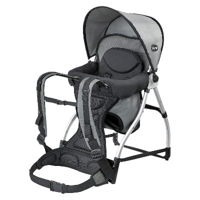 Chicco Smart Support Backpack Baby Carrier - Graphite