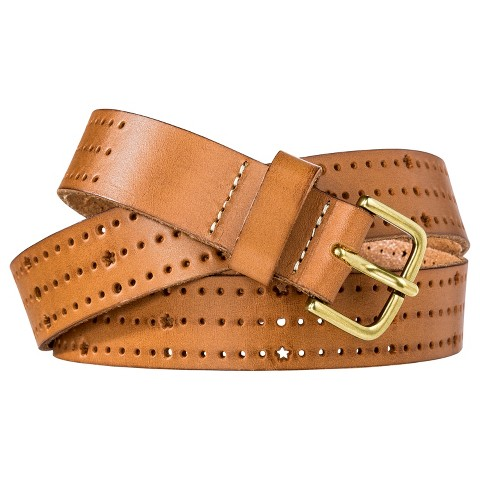 Mossimo Supply Co. Perforated Belt - Tan