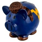 West Virginia Mountaineers Piggy Bank - Large