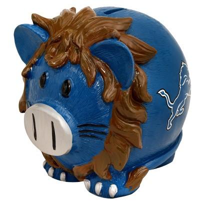 Optimum Fulfillment NFL Detroit Lions Piggy Bank - Large