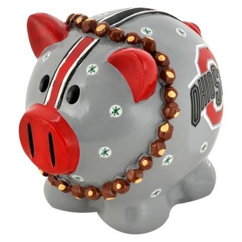Ohio State Buckeyes Piggy Bank - Large
