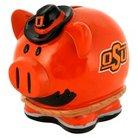 Oklahoma Cowboys Piggy Bank - Large