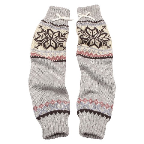 MUK LUKS® Arm Warmers - Gray