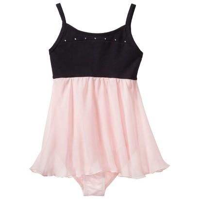 Freestyle® by Danskin® Girls' Activewear Dress -   Galaxy Black