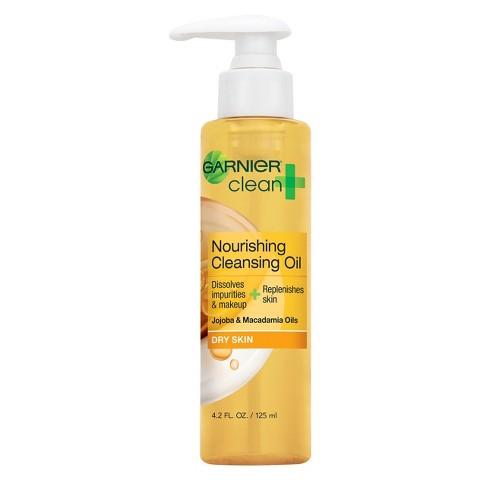 Garnier® Clean + Nourishing Cleansing Oil For Dry Skin - 4.2 fl oz