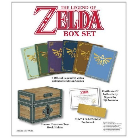 The Legend of Zelda: Prima Official Game Guide (Boxed Set) by David Hodgson and Stephen Stratton (Hardcover)