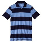 Men's Striped Pique Polo