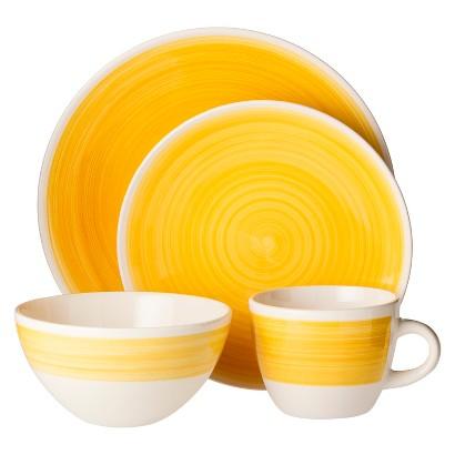 Threshold™ Bistro Ceramic Solid 16-Piece Dinnerware Set