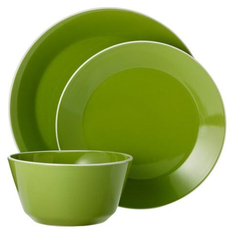 Room Essentials™ Angled Rim 12 Piece Dinnerware Set
