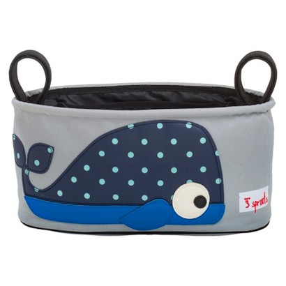 3 Sprouts Stroller Organizer - Whale