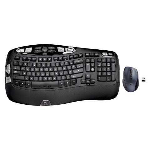 Logitech MK560 Wireless Keyboard and Mouse Set - Black (920-003627)